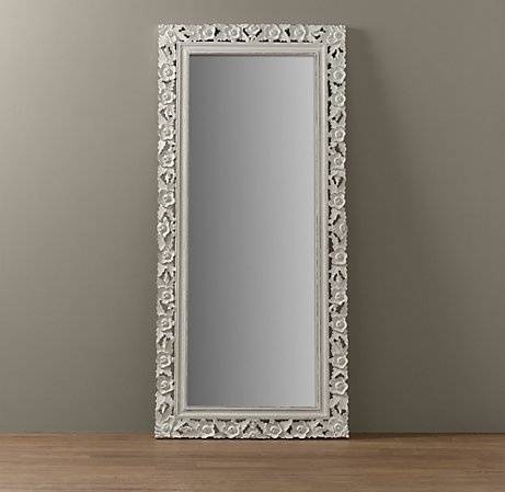 42 Best Mirrors Images On Pinterest | Mirror Mirror, Full Length Regarding Full Length Vintage Mirrors (#3 of 20)