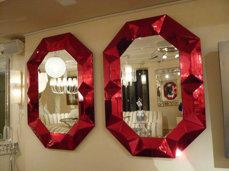 Inspiration about 424 Best Mirrors Images On Pinterest | Mirror Mirror, Mirrors And For Red Mirrors (#2 of 20)