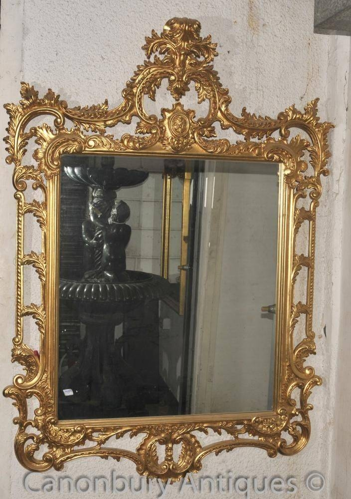 Inspiration about 43 Best Antique Mirrors Images On Pinterest | Antique Mirrors With Regard To Large Rococo Mirrors (#24 of 30)