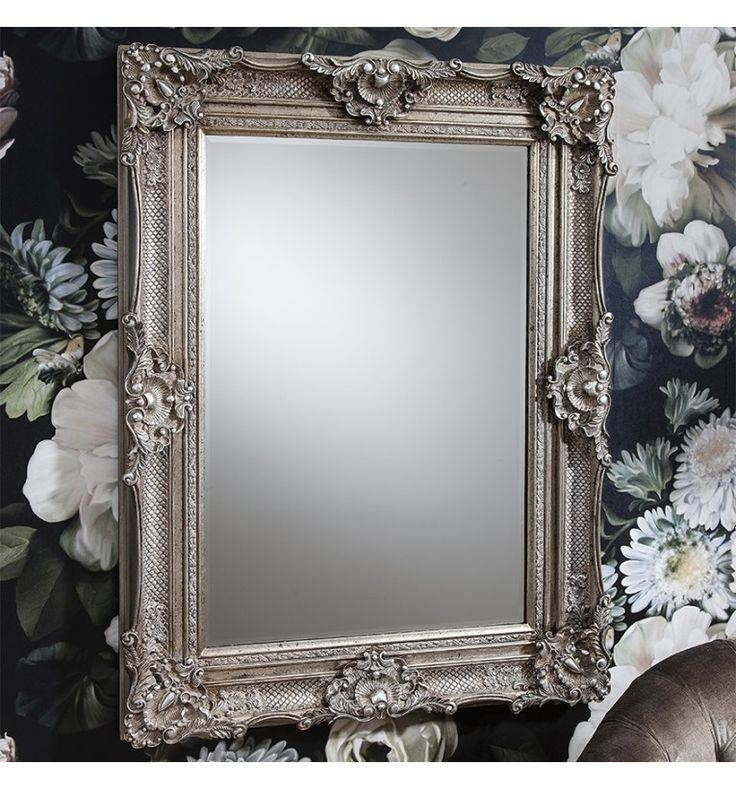 Inspiration about 43 Best Beautiful Mirrors Images On Pinterest | Beautiful Mirrors Intended For Silver Rectangular Mirrors (#12 of 20)
