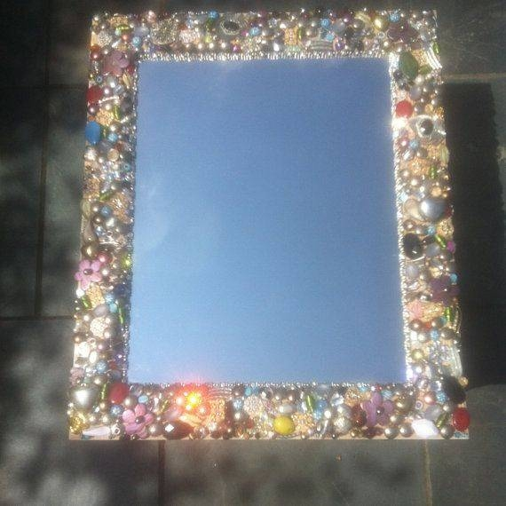 43 Best Home & Mirrors Images On Pinterest | Home, Mirror Mirror In Embellished Mirrors (#12 of 30)