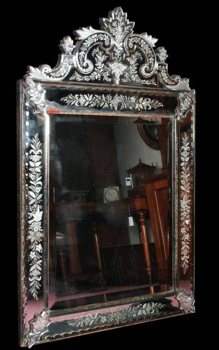 Inspiration about 44 Best Beautiful Mirrors Images On Pinterest | Venetian Mirrors Regarding Antique Venetian Glass Mirrors (#16 of 20)