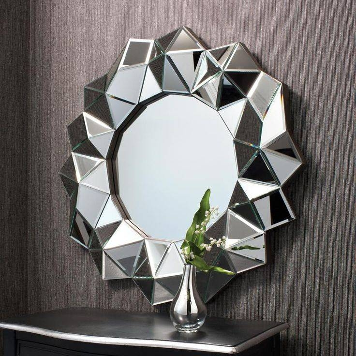 440 Best Mirror, Mirror Images On Pinterest | Mirror Mirror, Art Regarding Unique Round Mirrors (#8 of 30)