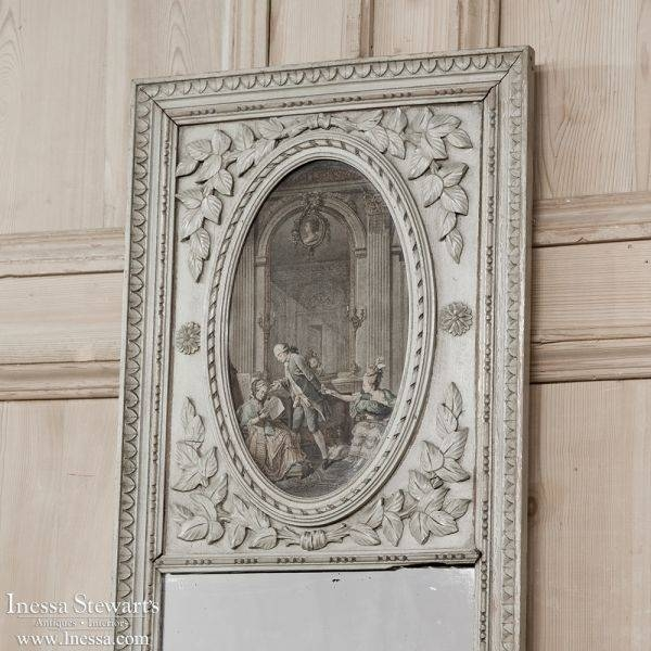 45 Best Antique Trumeau Mirrors Images On Pinterest | Antique Regarding Vintage French Mirrors (#11 of 30)