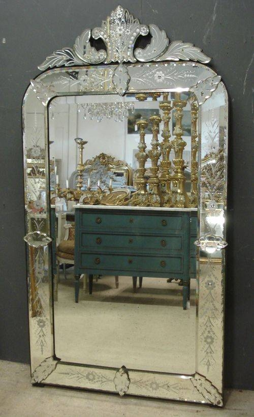 45 Best Antique Venetian Mirrors Images On Pinterest | French Regarding Large Venetian Mirrors (#3 of 20)