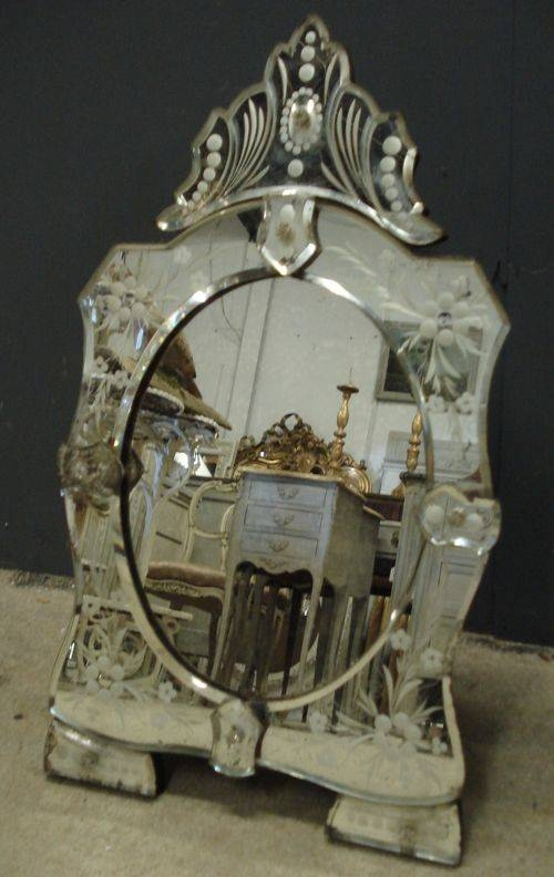Inspiration about 45 Best Antique Venetian Mirrors Images On Pinterest | French Regarding Venetian Table Mirrors (#10 of 20)