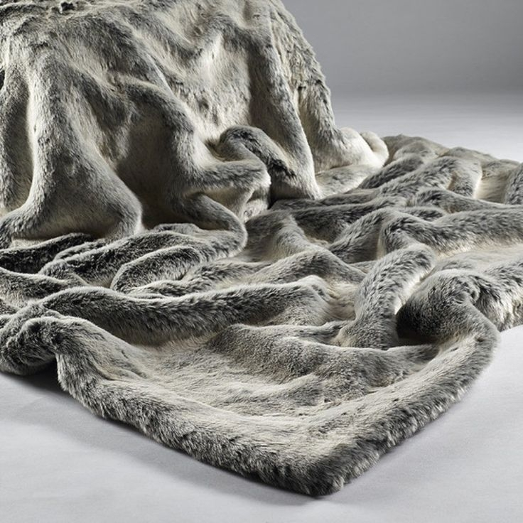 Inspiration about 45 Best Mink Faux Fur Throws At Wwwthesofathrowcompany Images Pertaining To Grey Throws For Sofas (#2 of 15)