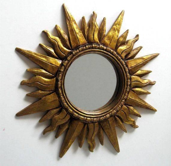 Inspiration about 450 Best Sun Mirror✨❣ Images On Pinterest | Sunburst Mirror, Sun Regarding Sun Mirrors (#19 of 20)