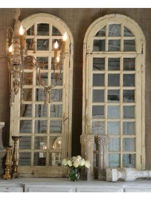 Inspiration about 464 Best Mirrors Images On Pinterest | Mirror Mirror, Mirrors And Home In Antique Arched Mirrors (#1 of 20)