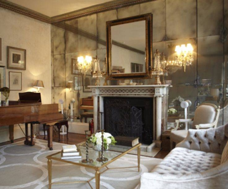 Inspiration about 477 Best Mirrors & Verre Eglomise Images On Pinterest   Mirror In Antiqued Mirrors (#13 of 20)