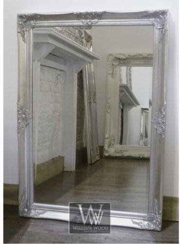 48 Best Mirrors Images On Pinterest | Bespoke, Wall Mirrors And Rococo Pertaining To Large Silver Vintage Mirrors (#4 of 30)
