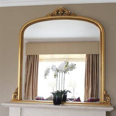 48 Best Over Mantle Mirrors Images On Pinterest | Overmantle Regarding Large Overmantle Mirrors (View 20 of 30)