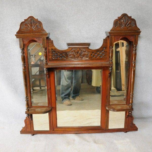 48 Best Over Mantle Mirrors Images On Pinterest | Overmantle Throughout Antique Overmantle Mirrors (#2 of 20)