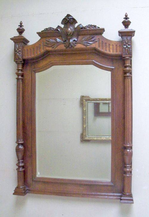 48 Best Over Mantle Mirrors Images On Pinterest | Overmantle With Regard To Antique Overmantle Mirrors (#3 of 20)