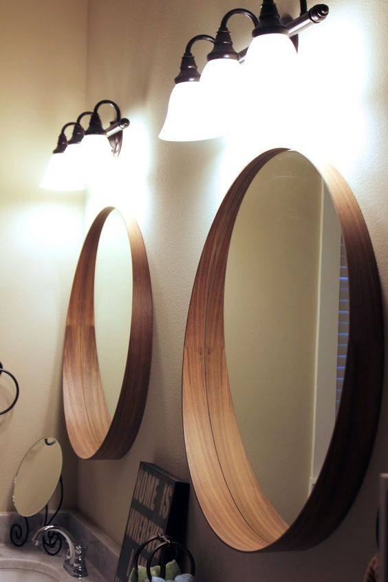 48 Uniquely Inspiring Bathroom Mirror Ideas – Fashionizm Throughout Funky Bathroom Mirrors (#7 of 30)