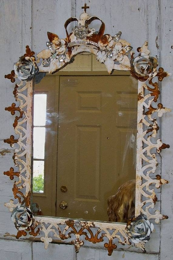 487 Best Distressed Picture Frames Images On Pinterest | Frames In Distressed Framed Mirrors (#7 of 30)