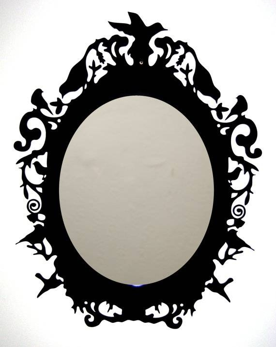 49 Best Cadre Images On Pinterest | Mirror Mirror, Rococo And Inside Black Vintage Mirrors (#8 of 30)