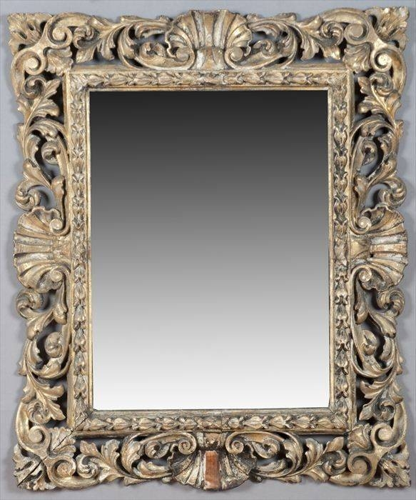 49 Best Frames & Mirrors Images On Pinterest | Mirror Mirror Pertaining To Silver Baroque Mirrors (#5 of 30)