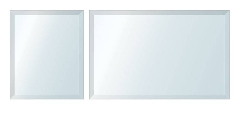 Inspiration about 4Mm Silver Mirrors – 25Mm Bevel – Clean Cut Pertaining To Silver Bevelled Mirrors (#14 of 20)