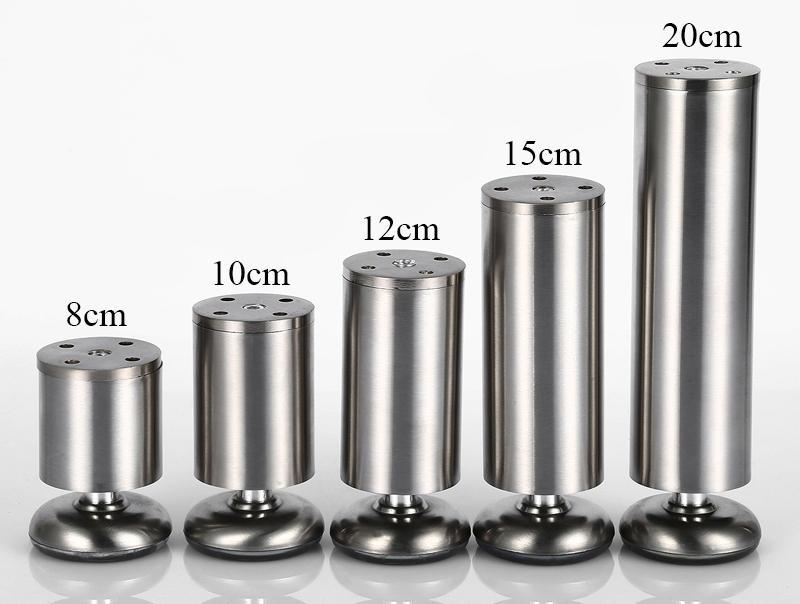 Inspiration about 4pcs Table Legs 20cm Metal Sofa Legs Adjustable Furniture Feet Within Adjustable Sofa Legs (#9 of 15)