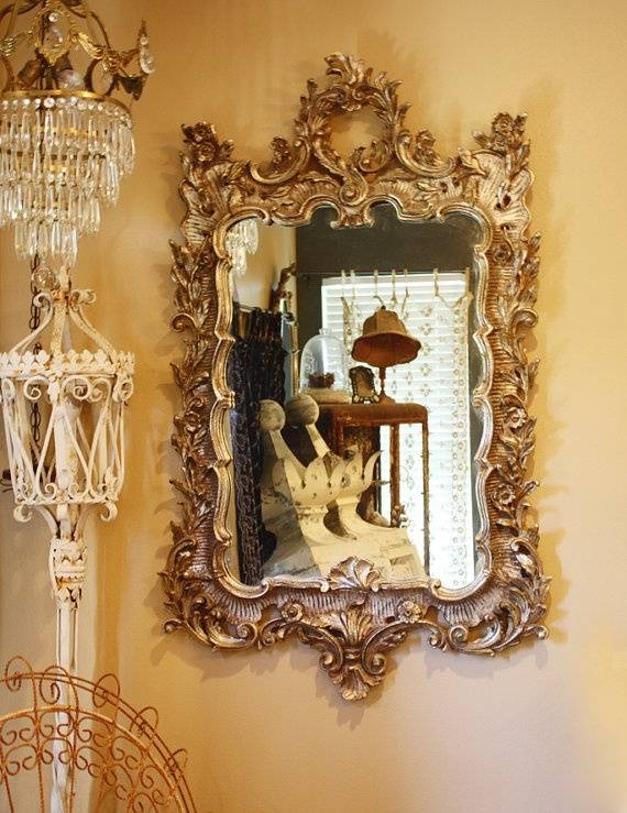 Inspiration about 50 Best Antique Mirrors Images On Pinterest | Antique Mirrors Pertaining To Antique Mirrors Vintage Mirrors (#8 of 20)