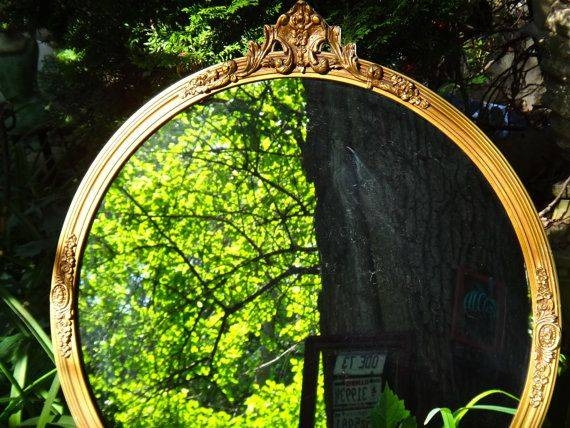 Inspiration about 50 Best Bathroom Mirror Images On Pinterest | Bathroom Mirrors Regarding Large Round Gold Mirrors (#25 of 30)