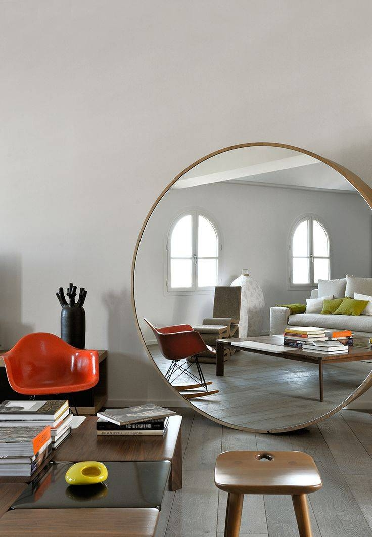 50 Best Interior Design Images On Pinterest | Home, Architecture Inside Very Large Round Mirrors (#4 of 30)