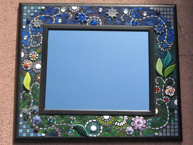 Inspiration about 50 Best Mosaic Mirrors Images On Pinterest | Mosaic Mirrors Throughout Mosaic Mirrors (#17 of 20)