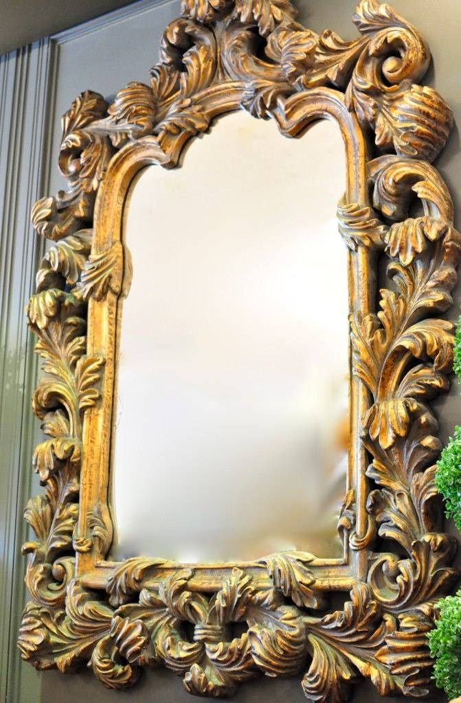 51 Best Stylish Mirrors Images On Pinterest | Rococo, Mirror In Very Large Ornate Mirrors (View 2 of 20)