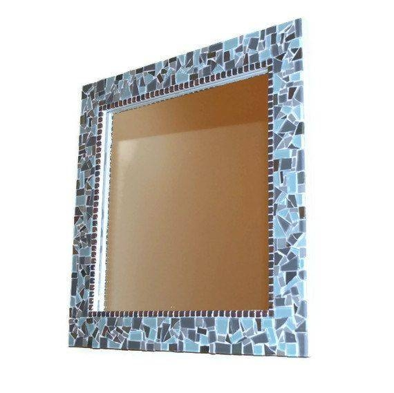 519 Best Mosaic Mirrors Images On Pinterest | Mosaic Mirrors Within Mosaic Wall Mirrors (#4 of 20)