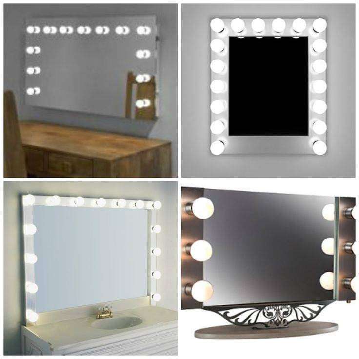 52 Best Makeup Vanity Images On Pinterest | Home, Make Up And Within Illuminated Dressing Table Mirrors (#3 of 20)