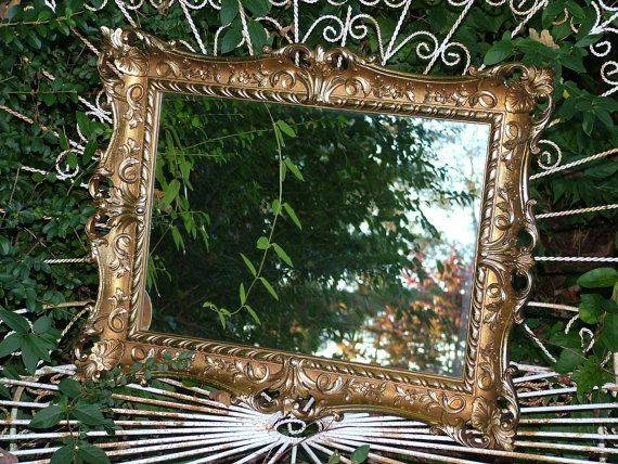 52 Best Mirrors Images On Pinterest | Hollywood Regency, Vintage Within Ornate Vintage Mirrors (#12 of 30)
