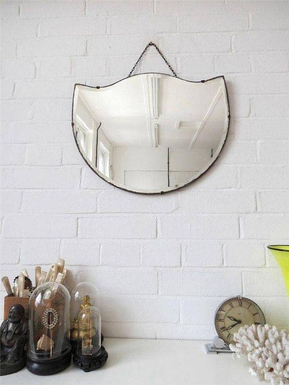 Inspiration about 52 Best Vintage Frameless Mirrors Images On Pinterest   Vintage In Antique Frameless Mirrors (#17 of 20)