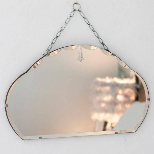 Inspiration about 52 Best Vintage Frameless Mirrors Images On Pinterest | Vintage Inside Antique Frameless Mirrors (#12 of 20)