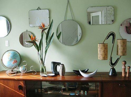 Inspiration about 52 Best Vintage Frameless Mirrors Images On Pinterest | Vintage Pertaining To Vintage Frameless Mirrors (#9 of 30)
