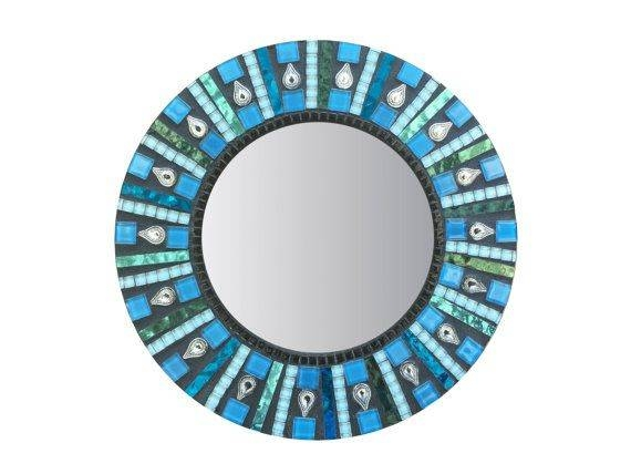Inspiration about 520 Best Mosaic Mirrors Images On Pinterest | Mosaic Mirrors For Round Mosaic Mirrors (#21 of 30)