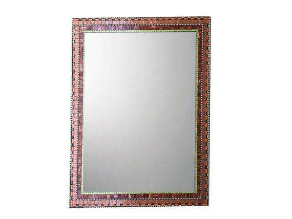 520 Best Mosaic Mirrors Images On Pinterest | Mosaic Mirrors Within Bronze Mosaic Mirrors (#11 of 30)