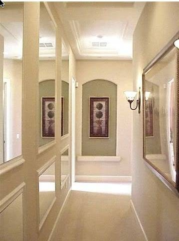 Inspiration about 53 Best Hallway Images On Pinterest | Home, Long Hallway And Hallways Intended For Long Mirrors For Hallway (#4 of 30)