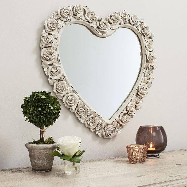 Inspiration about 54 Best Mirrors Images On Pinterest | Mirror Mirror, Decorative With Cream Shabby Chic Mirrors (#15 of 30)