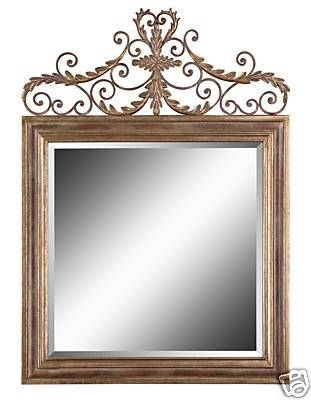 Inspiration about 54 Best Mirrors With A History Images On Pinterest | Mirror Mirror Throughout Square Gold Mirrors (#12 of 20)