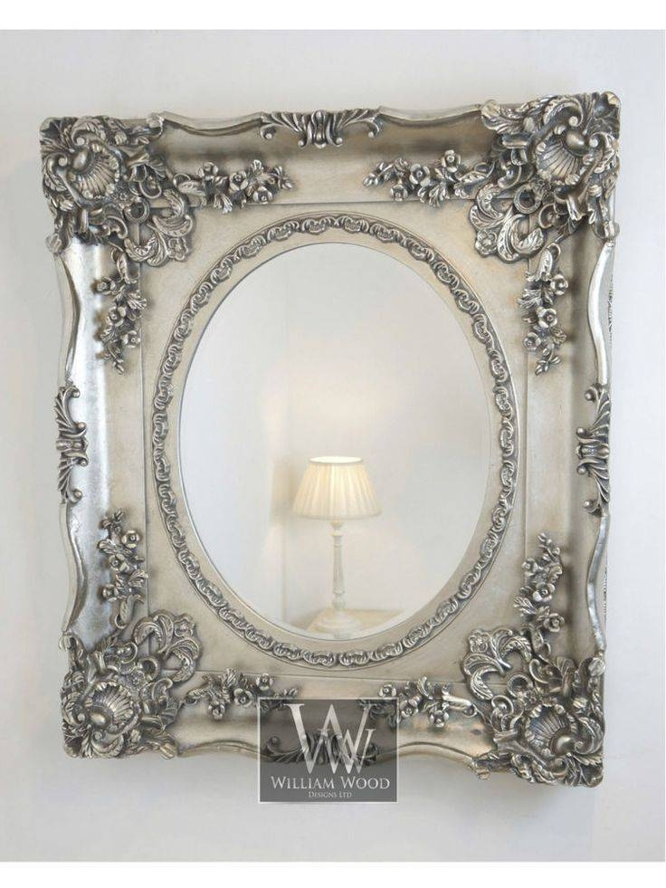 Inspiration about 55 Best Mirror Rorrim Images On Pinterest | Mirror Mirror, Mirrors Regarding Large Silver Vintage Mirrors (#6 of 30)