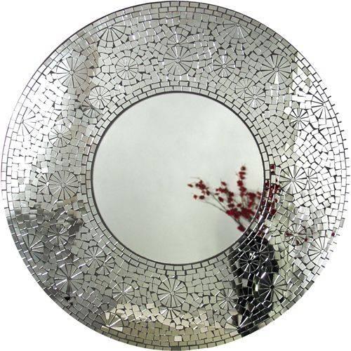 56 Best Round Mosaic Mirrors. (#5 of 15)