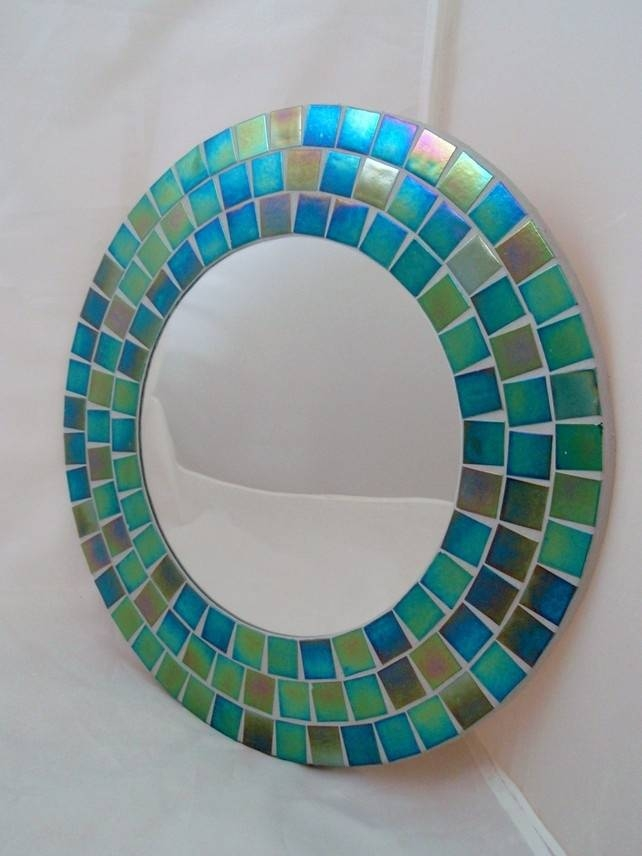 Inspiration about 56 Best Round Mosaic Mirrors..❤ Images On Pinterest | Mosaic With Regard To Round Mosaic Mirrors (#18 of 30)
