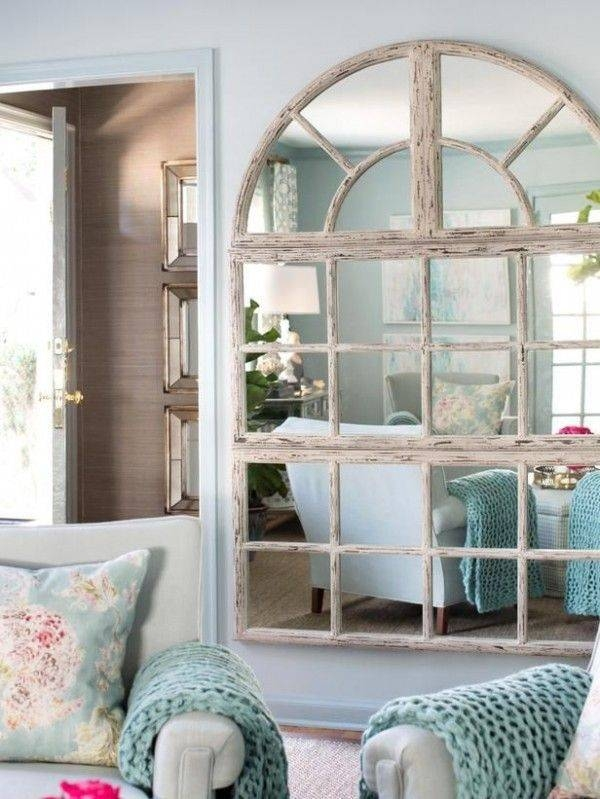 Inspiration about 562 Best Decorating With Mirrors Images On Pinterest | Mirror Regarding Shabby Chic Window Mirrors (#6 of 20)