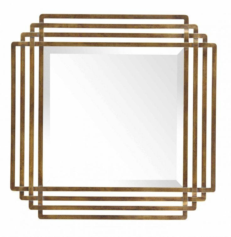 Inspiration about 58 Best Mirrors Images On Pinterest | Wall Mirrors, Gold Mirrors Pertaining To Square Gold Mirrors (#10 of 20)