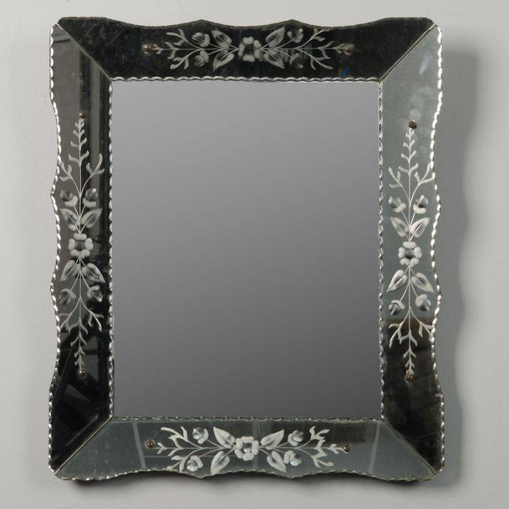 59 Best Antique & Vintage Mirrors Images On Pinterest | Vintage For Black Venetian Mirrors (#10 of 30)