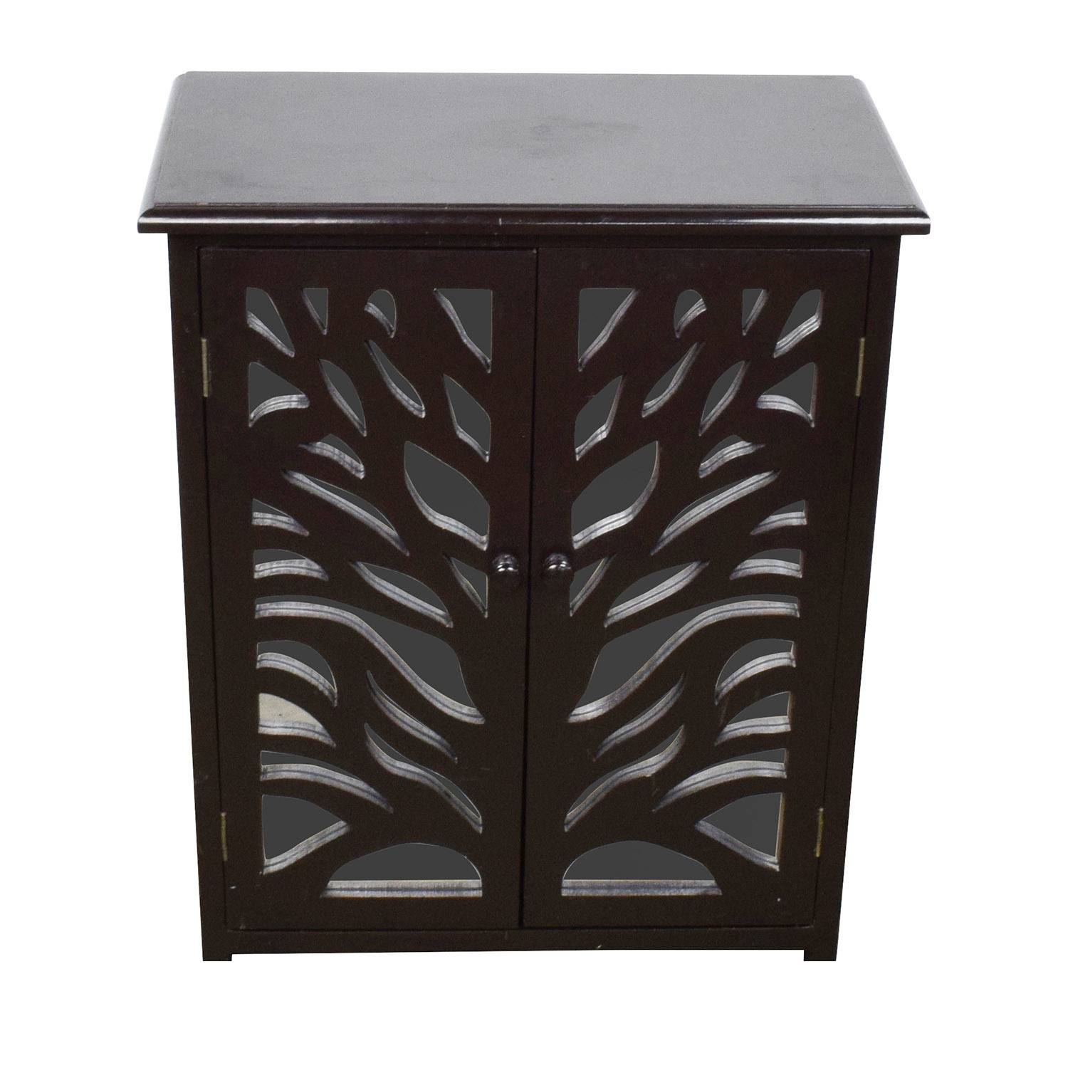 Inspiration about 59% Off – Asian Style Red Rustic Trunk / Storage Throughout Small Black Sideboard (#12 of 20)