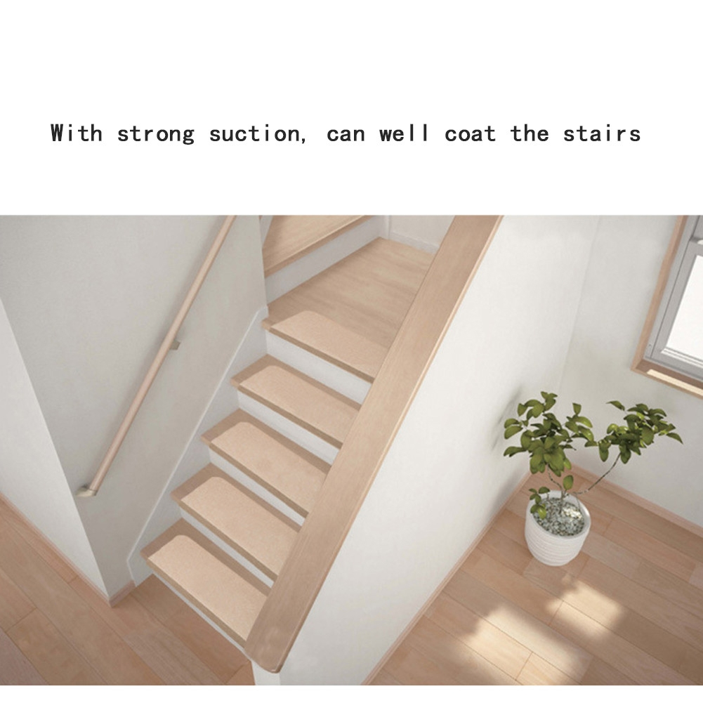 Inspiration About 5pcs Home Washable Stair Treads Non Slip Durable Carpet Mats Inside