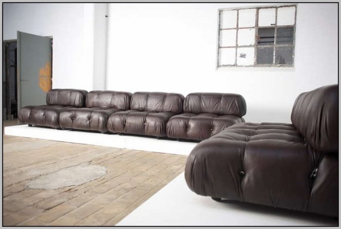6 Piece Modular Sectional Sofa Leather Sofas Home Decorating Inside Leather Modular Sectional Sofas (#3 of 15)