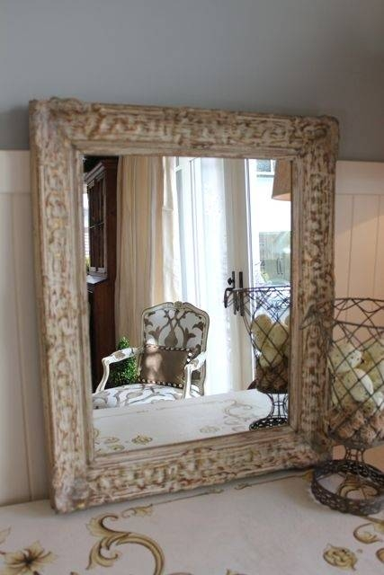 Inspiration about 603 Best Mirrors Images On Pinterest | Mirror Mirror, Beautiful With Cream Antique Mirrors (#11 of 20)